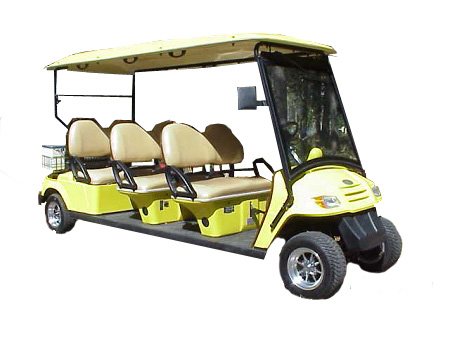 CitEcar Electro Neighborhood Buddy 6 Passenger Street Legal Golf Cart