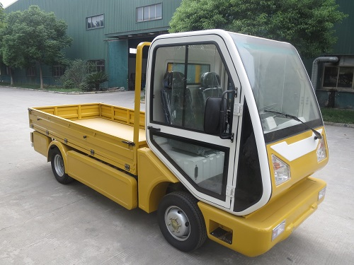 MotoEV Electro Industrial Buddy 2 Passenger Utility Deluxe Truck