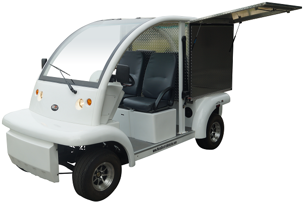 MotoEV Electro Bubble Buddy LSV 2 Passenger Enclosed Utility Standard