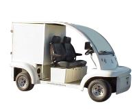 MotoEV Electro Bubble Buddy LSV 2 Passenger Delivery