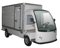 MotoEV Electro Industrial Buddy 2 Passenger Delivery
