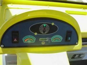2 Passenger Citecar Bubble Buddy Yellow Dashboard
