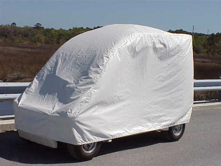Electric Vehicle Weather Cover - 4 P BB & Golf