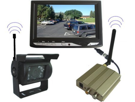 Wireless car backup camera
