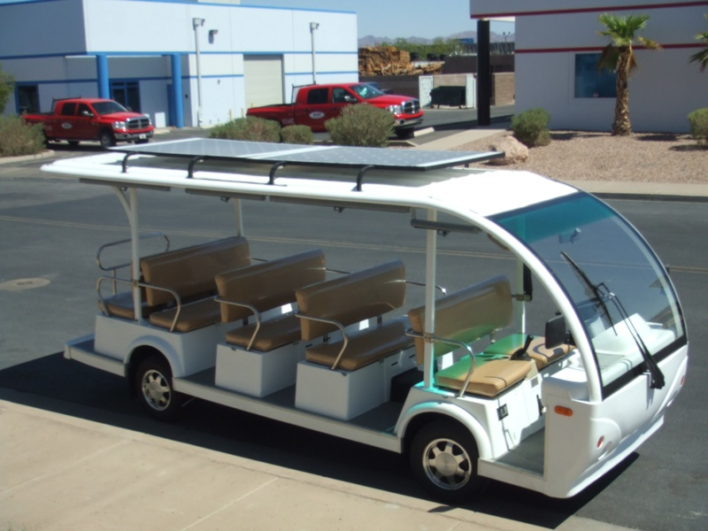 Electric Solar Roof Kit - Shuttle