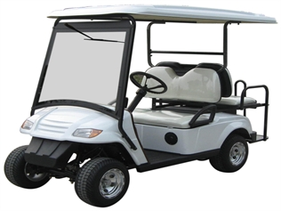 MotoEV Electro Neighborhood Buddy 4 Passenger (Back to Back) Street Legal Golf Cart