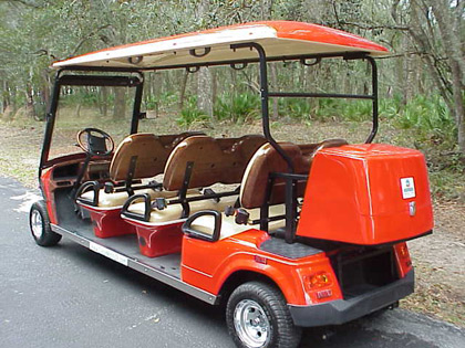 Rear Lockable Golf Cart Trunk