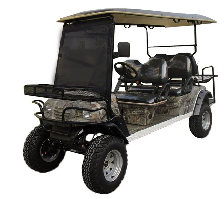 CitEcar Electro Neighborhood Buddy 6 Passenger (Back to Back) Highriser Street Legal Golf Cart