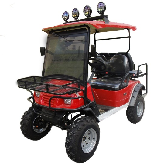 CitEcar Electro Neighborhood Buddy 4 Passenger (Back to Back) Highriser Street Legal Golf Cart