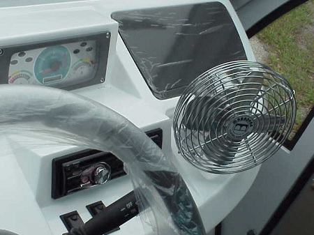 Dash Mounted Fan