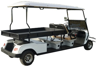 MotoEV Electro Neighborhood Buddy 2 Passenger Utility XL Street Legal Golf Cart