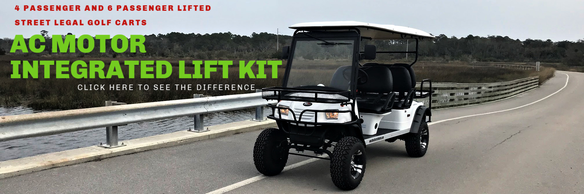 Lifted Golf Carts
