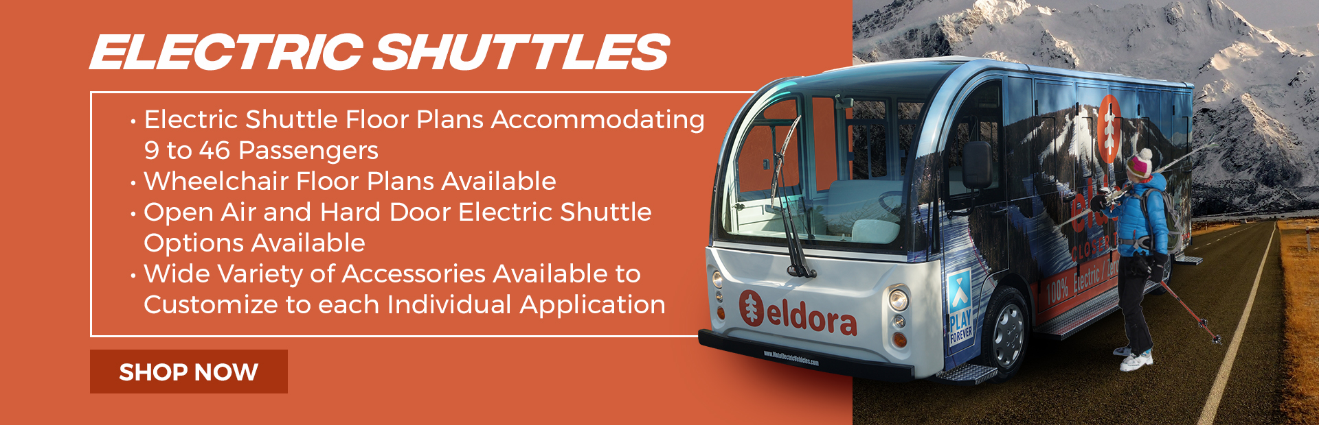 Electric Shuttles for Sale