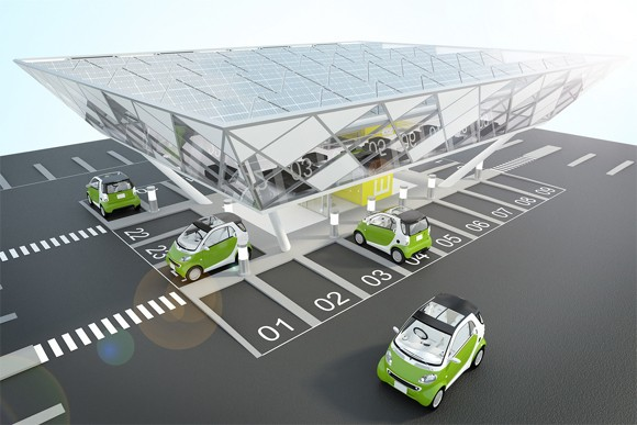 Japanese Gas Stations Get Into EV Charging