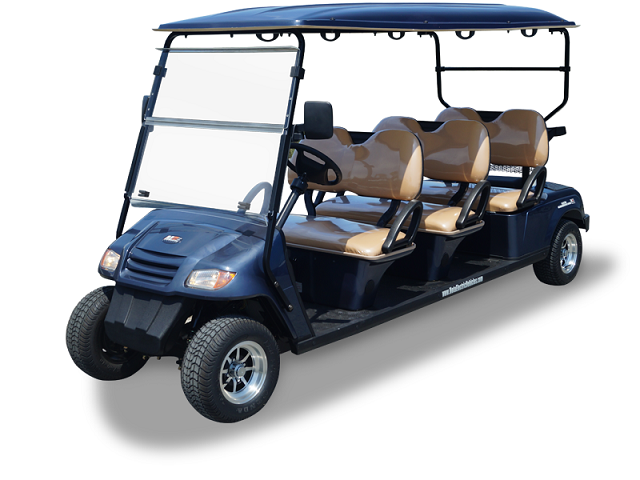 MotoEV 6 Passenger Forward Facing Golf Cart- Non Street Legal