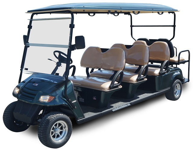 MotoEV 8 Passenger Golf Cart- Non Street Legal