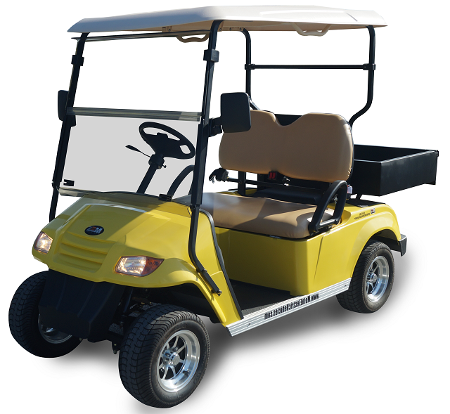 MotoEV 2 Passenger Utility Golf Cart- Non Street Legal
