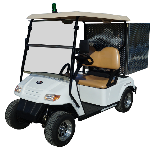 MotoEV 2 Passenger Enclosed Utility Golf Cart- Non Street Legal