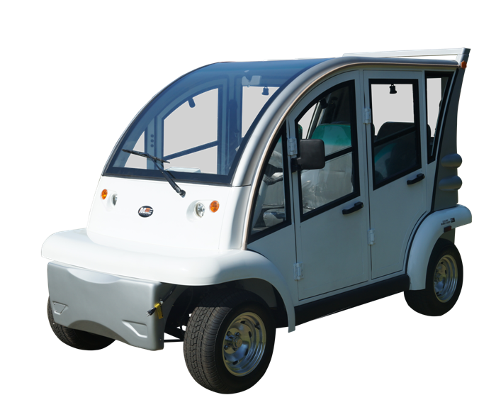 MotoEV Electro Bubble Buddy LSV 4 Passenger Hard Door LE