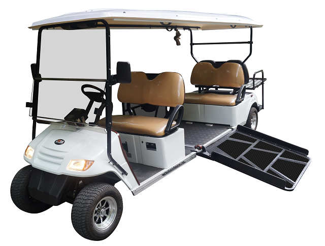 MotoEV 6 Passenger Wheelchair Golf Cart- Non Street Legal