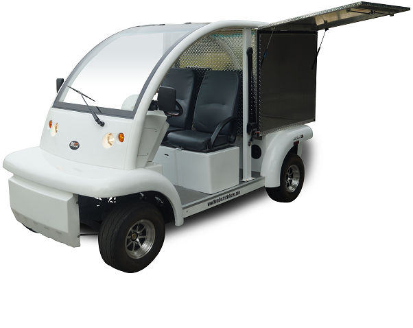 MotoEV Electro Bubble Buddy 2 Passenger Enclosed Utility Standard