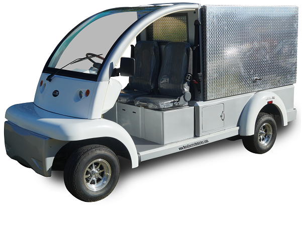 MotoEV Electro Bubble Buddy 2 Passenger Enclosed Utility Deluxe